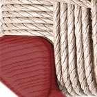 rosso - corda naturale