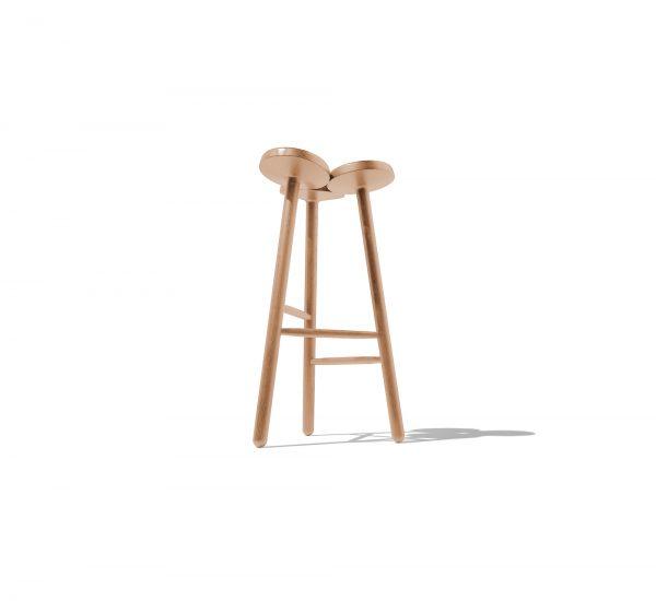 Temù sgabello in legno | InternoItaliano